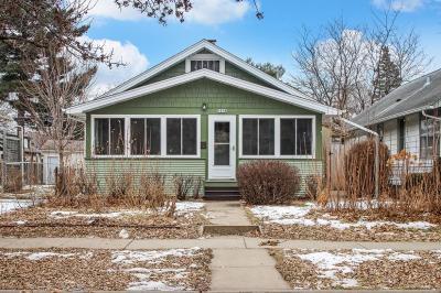Saint Paul Single Family Home For Sale: 1518 Albert Street N