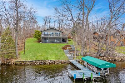 Lake Shore Single Family Home For Sale: 8298 Gullwood Road