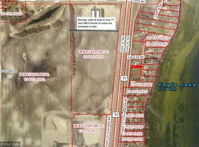 Kandiyohi County Residential Lots & Land For Sale: - NE Us Hwy 71