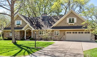Edina Single Family Home For Sale: 4607 Lakeview Drive