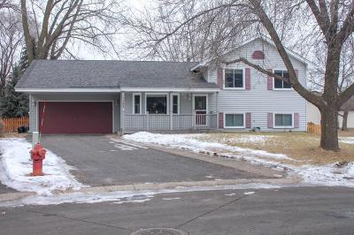 Coon Rapids Single Family Home Contingent: 1383 105th Lane NW