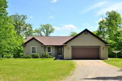 Grand Rapids Single Family Home For Sale: 34764 E Deer Lake Road