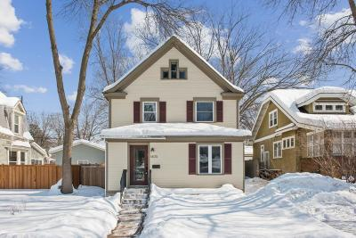 Minneapolis Single Family Home Contingent: 4405 Lyndale Avenue S