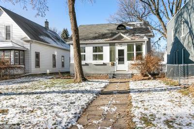 Minneapolis Single Family Home For Sale: 2946 Polk Street NE