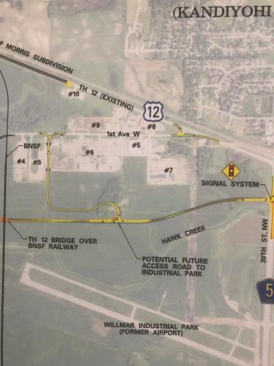 Kandiyohi County Residential Lots & Land For Sale: Xxx W Hwy 12 Conversion