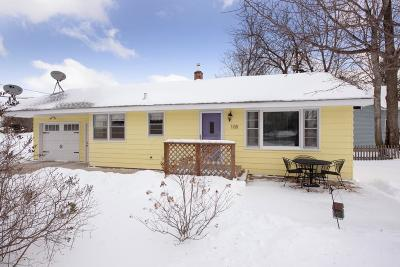 Isanti Single Family Home Contingent: 108 3rd Avenue SW