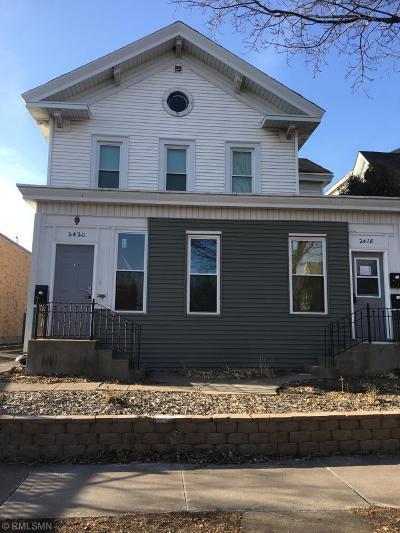 Minneapolis Multi Family Home For Sale: 2418 Fremont Avenue S