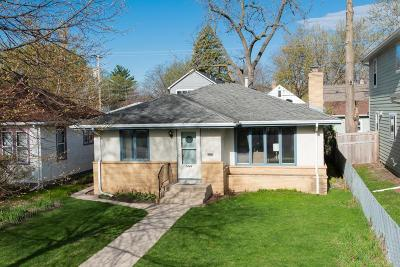 Minneapolis MN Single Family Home Contingent: $255,000