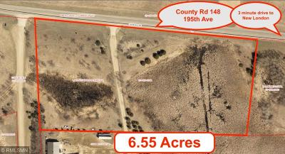 Kandiyohi County Residential Lots & Land For Sale: 5525 195th Avenue NE