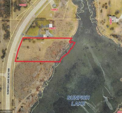 Ramsey Residential Lots & Land For Sale: 14xxx Sunfish Lake Boulevard NW