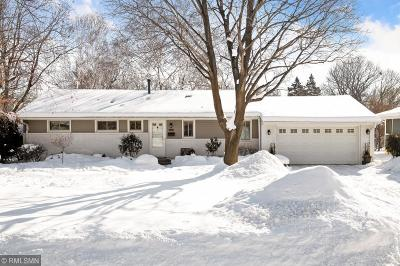 Edina Single Family Home For Sale: 6921 Dawson Lane