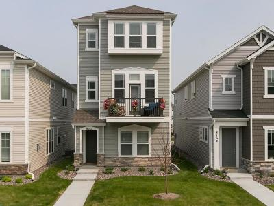 Maple Grove Condo/Townhouse For Sale: 8168 Central Park Way N