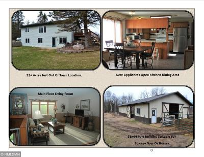 Crosby Single Family Home For Sale: 21624 Larson Road