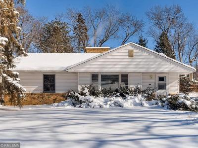 Edina Single Family Home Contingent: 5909 Chowen Avenue S