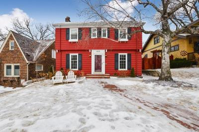 Minneapolis Single Family Home Contingent: 4836 13th Avenue S