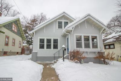 Minneapolis Single Family Home For Sale: 4736 15th Avenue S