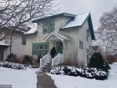 Minneapolis Single Family Home For Sale: 1956 Ulysses Street NE