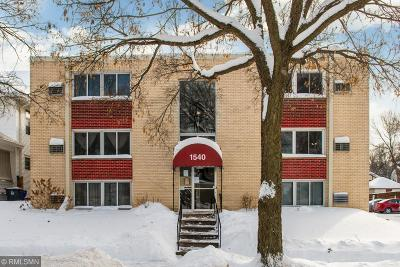 Saint Paul Condo/Townhouse For Sale: 1540 Ashland Avenue #3