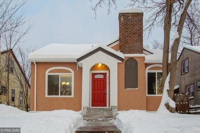 Minneapolis Single Family Home For Sale: 3714 Morgan Avenue N