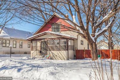 Minneapolis Single Family Home For Sale: 3828 17th Avenue S