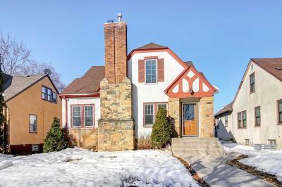 Minneapolis Single Family Home For Sale: 4324 Oakland Avenue
