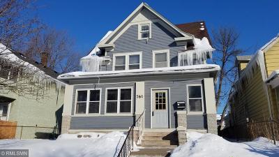 Saint Paul Single Family Home For Sale: 761 Case Avenue