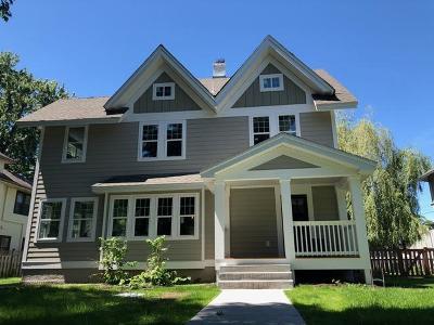 Minneapolis MN Single Family Home For Sale: $729,000