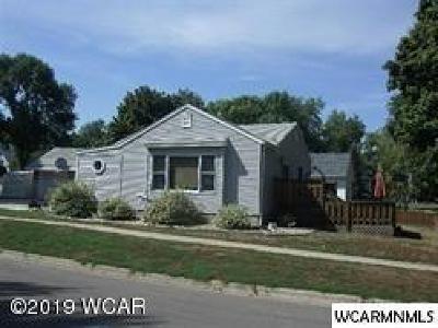 Clara City, Montevideo, Dawson, Madison, Marshall, Appleton Single Family Home For Sale: 208 E Lyon Street