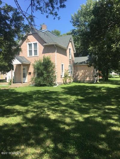 Clara City, Montevideo, Dawson, Madison, Marshall, Appleton Single Family Home For Sale: 700 W Main Street