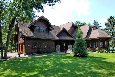 Breezy Point, Crosslake Single Family Home For Sale: 15640 Birch Narrows Road