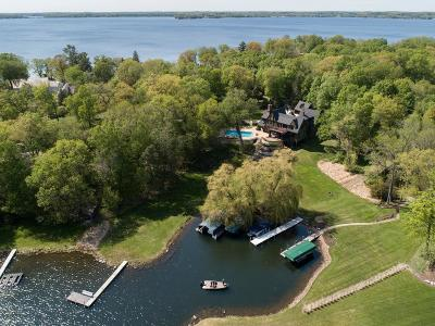 Deephaven MN Single Family Home For Sale: $5,395,000