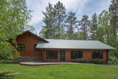 Federal Dam, Leech Lake Twp, Walker, Benedict, Laporte Single Family Home For Sale: 6625 Kabekona Springs Lane NW