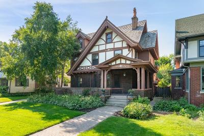 Saint Paul Single Family Home For Sale: 1410 Summit Avenue