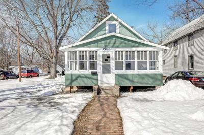 White Bear Lake Single Family Home For Sale: 1983 Eugene Street