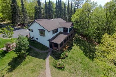 Federal Dam, Leech Lake Twp, Walker, Benedict, Laporte Single Family Home For Sale: 7524 Blue Water Beach Road NW