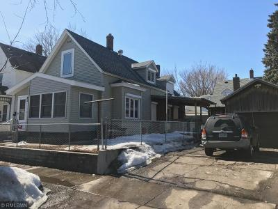 Saint Paul Single Family Home For Sale: 651 Mackubin Street