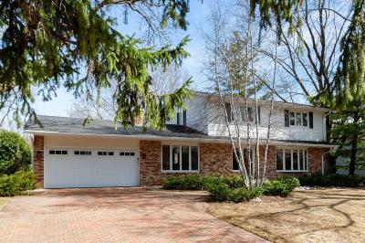 Edina Single Family Home Contingent: 6405 Ridgeview Drive