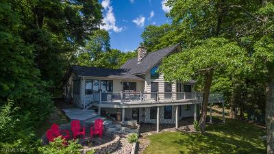 Nisswa Single Family Home For Sale: 1401 Ossego Road W
