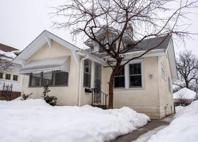 Minneapolis Single Family Home Contingent: 2331 Cleveland Street NE