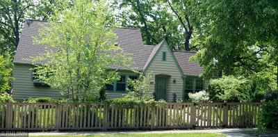 Minneapolis Single Family Home For Sale: 3825 W 38th Street