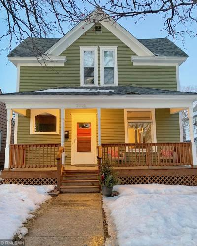 Minneapolis Single Family Home Contingent: 2006 Willow Avenue N