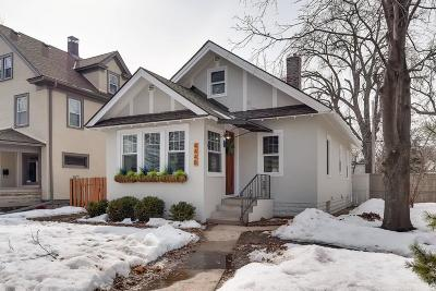 Minneapolis Single Family Home For Sale: 4448 1st Avenue S