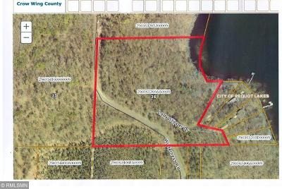 Pequot Lakes Residential Lots & Land For Sale: Tbd Wilderness Road