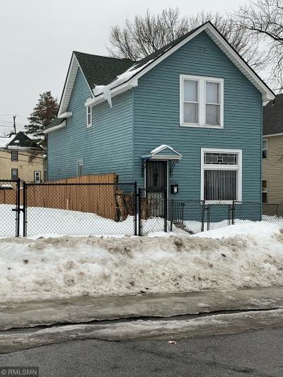 Saint Paul Single Family Home For Sale: 604 York Avenue