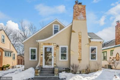 Minneapolis Single Family Home For Sale: 5315 11th Avenue S