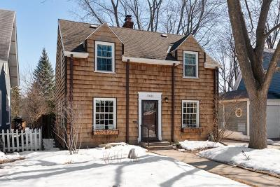 Minneapolis Single Family Home For Sale: 5421 Fremont Avenue S
