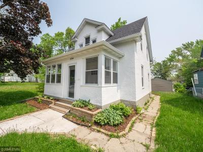 Minneapolis Single Family Home For Sale: 3734 Fremont Avenue N