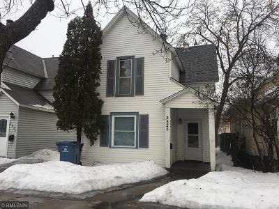 Minneapolis Single Family Home For Sale: 2525 4th Street NE