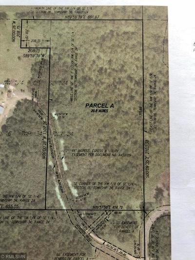 Isanti Residential Lots & Land For Sale: 2xxxx Zion Street NW
