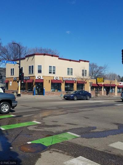 Crystal, Golden Valley, Minneapolis, Minnetonka, New Hope, Plymouth, Robbinsdale, Saint Louis Park Commercial For Sale: 1120 Lowry Avenue N